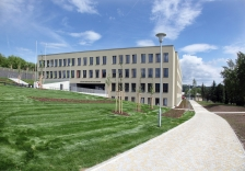 Centre of Technical Education in Ostrov – Construction execution