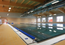 Karlovy Vary – Construction of indoor swimming pool, foot bridge, and parking spaces